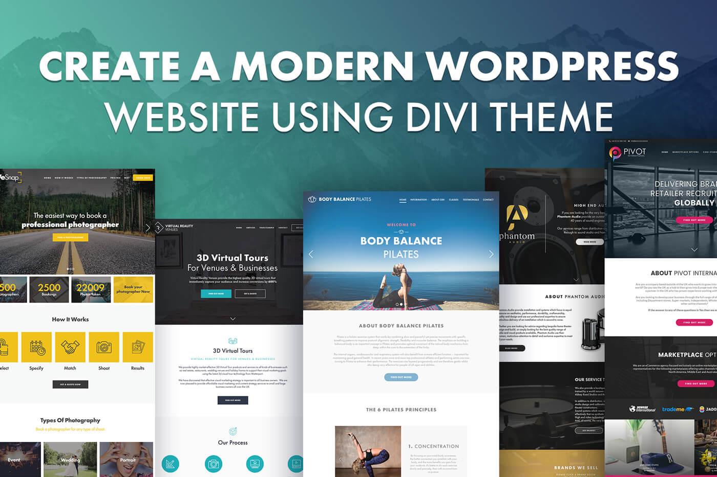 Mymentech the best web design development company in - Divi wordpress theme ...